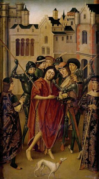Hair Of The Dog Wall Art - Painting - 'prision De San Juan Bautista', 1490-1500, Spanish School, Panel, 94 Cm X... by Maestro de Miraflores -fl 1480-1500-