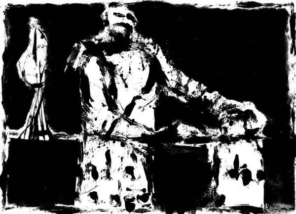 Digital Art - Prisoner Digitally Whitened Paper by Artist Dot