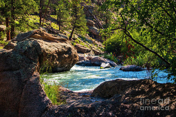 Photograph - Pristine Blue Water by Steve Krull