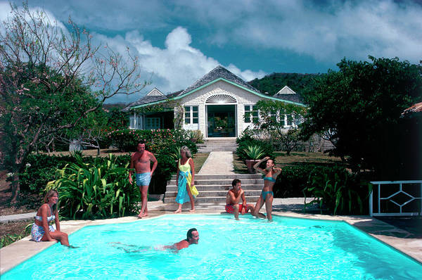 Caribbean Photograph - Private Paradise by Slim Aarons