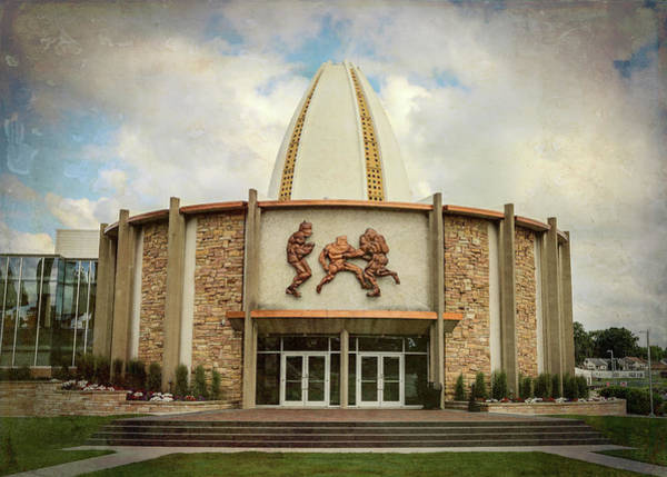 Wall Art - Photograph - Pro Football Hall Of Fame #3 by Stephen Stookey