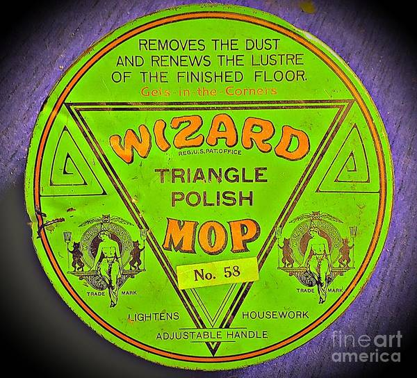 Wall Art - Photograph - Product Wizard Mop Triangle Polish by Marie-Elaina Reichle HCA CPhT