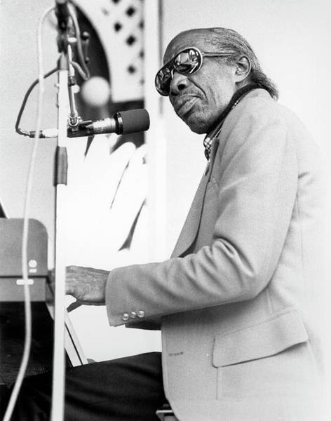 Photograph - Professor Longhair by Tom Copi