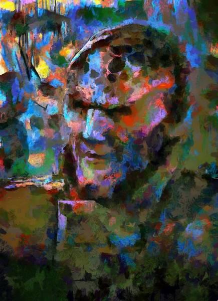 Digital Art - Profile G'kar by Mario Carini