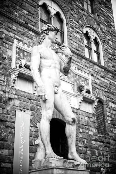 Wall Art - Photograph - Profile Of David In Florence by John Rizzuto