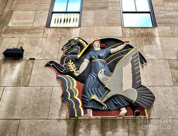 Wall Art - Photograph - Progress At Rockefeller Center In New York City by John Rizzuto