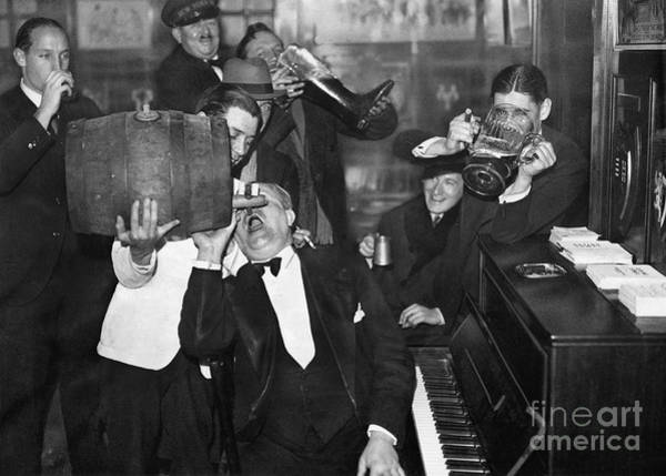 Wall Art - Photograph - Prohibition Ends Drink Up by Jon Neidert
