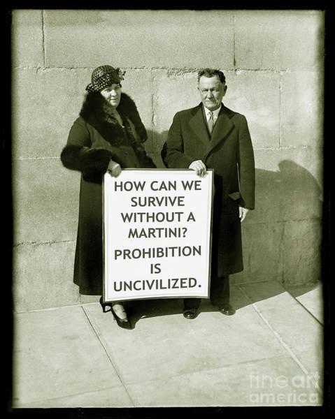 Wall Art - Photograph - Prohibition Is Uncivilized by Jon Neidert