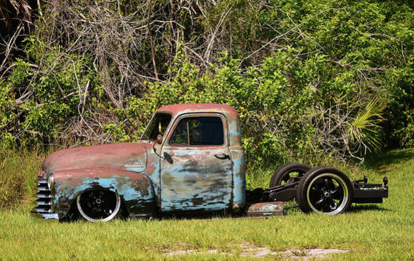 Wall Art - Photograph - Project Chevy Or Lawn Art by William Tasker