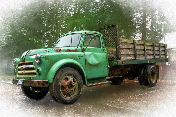 Photograph - Project Truck by Bill Posner