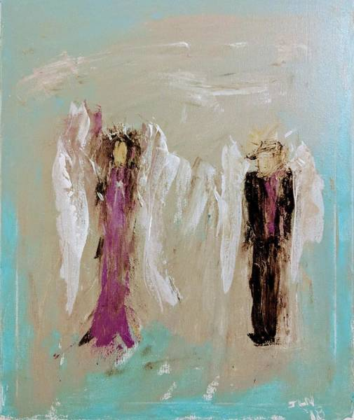 Painting - Prom Angels by Jennifer Nease