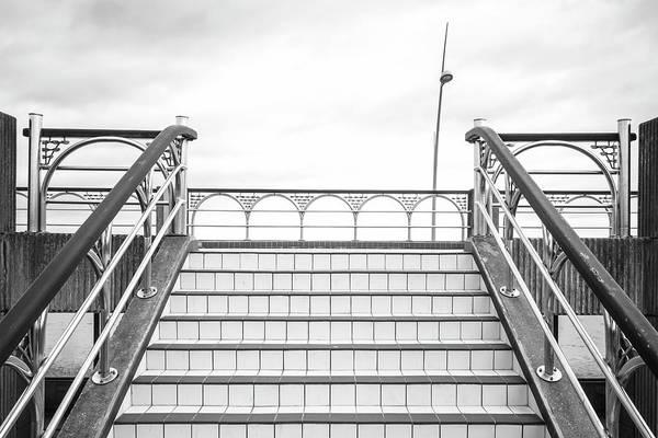 Promenade Photograph - Promenade Steps by Richard Nixon