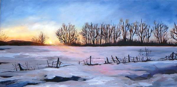 Painting - Promise  Of A New Day by Monica Ironside