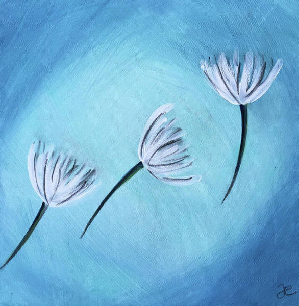 Painting - Promises On Their Way by Anna Elkins