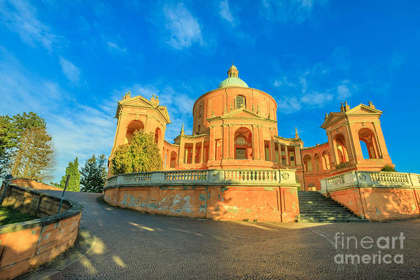 Photograph - Pronaos And Facade Of San Luca by Benny Marty