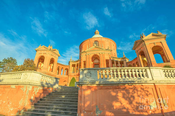 Photograph - Pronaos Of San Luca by Benny Marty