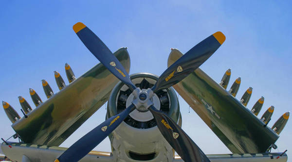 Photograph - Propeller  And Rockets by Anthony Jones