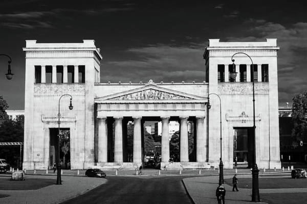 Art Print featuring the photograph Propylaea by Borja Robles
