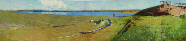 Wall Art - Painting - Prospect Reservoir - Digital Remastered Edition by Arthur Streeton