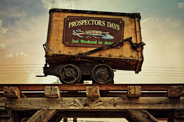 Photograph - Prospectors Days Republic Washington Sign by Tatiana Travelways
