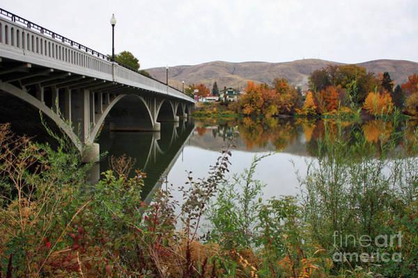 Photograph - Prosser Bridge In Autumn by Carol Groenen
