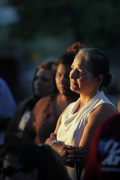 Photograph - Protests And Prayers Erupt In Az After by John Moore
