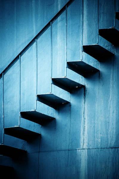 Handrail Photograph - Protrusion by Matthew Blum