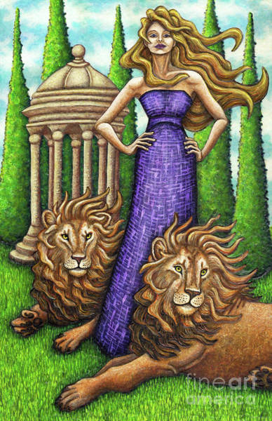 Painting - Proud Lions by Amy E Fraser