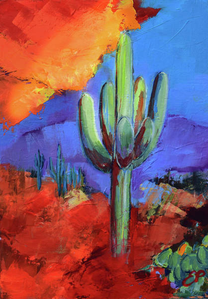 Painting - Under The Sonoran Sky By Elise Palmigiani by Elise Palmigiani