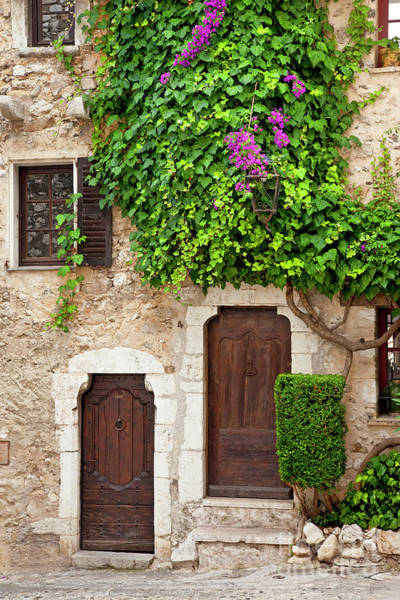 Photograph - Provencal Homes by Brian Jannsen