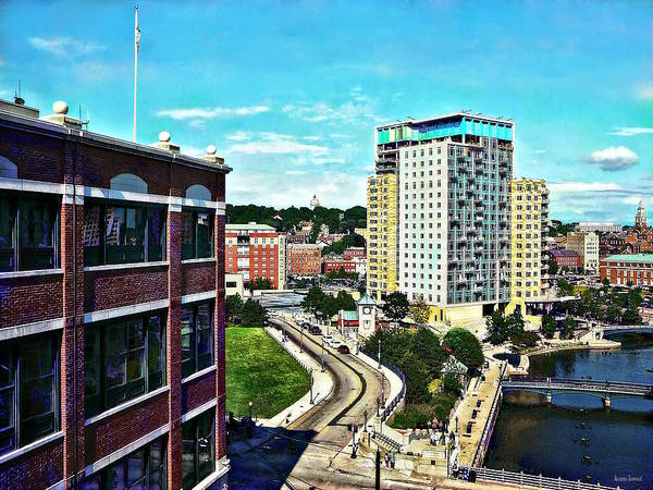 Photograph - Providence Ri - View From Waterplace Park II by Susan Savad