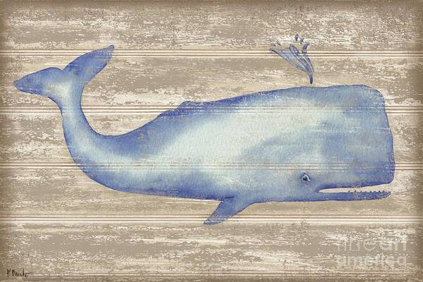 Wall Art - Painting - Providence Whale by Paul Brent