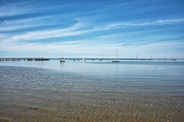 Wall Art - Photograph - Provincetown Harbor - Cape Cod - Massachusetts by Brendan Reals
