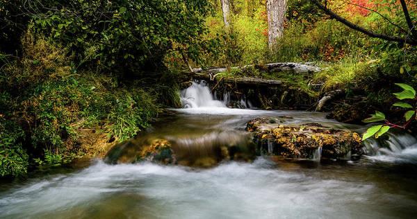Photograph - Provo Deer Creek Cascades by TL Mair