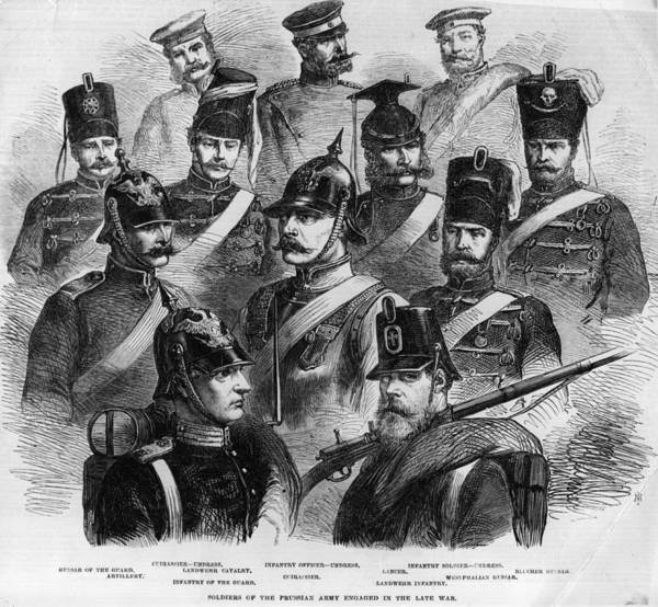 Prussian Army Art Print