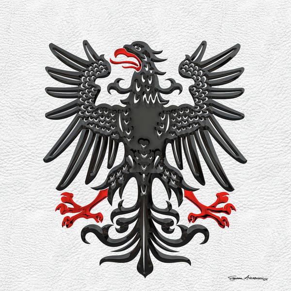Digital Art - Prussian Royal Eagle 1844-1871 by Serge Averbukh