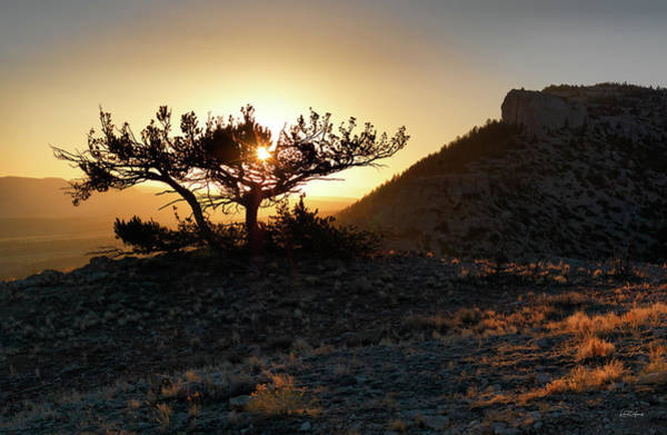Photograph - Pryor Mountain Sunrise by Leland D Howard