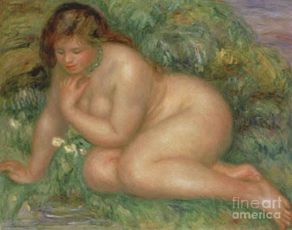Wall Art - Painting - Psyche, Circa 1910  by Pierre Auguste Renoir
