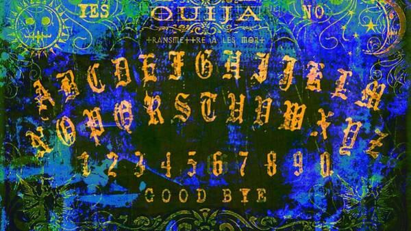 Soul Digital Art - Psychedelic Ouija  by Brian Broadway