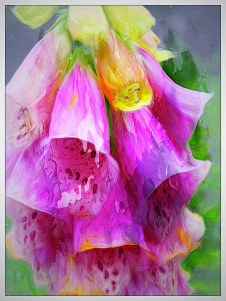 Digital Art - Psychedellic Pinkbells by Cindy Greenstein