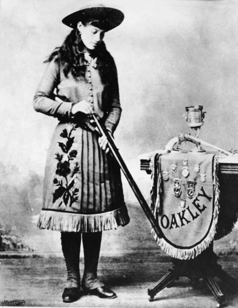 Wall Art - Photograph - Publicity Still Of Annie Oakley by Hulton Archive