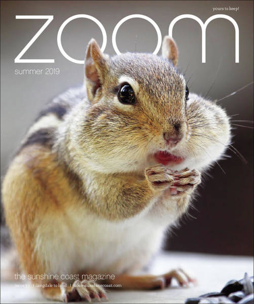 Photograph - Published In Zoom Magazine - Summer 2019 Edition Front Cover by Peggy Collins