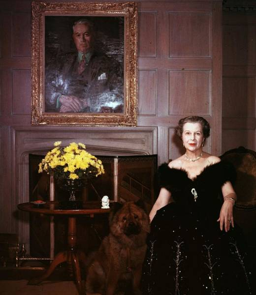 Mccormick Wall Art - Photograph - Publishing Widow by Slim Aarons