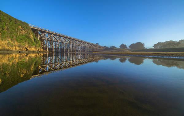 Photograph - Pudding Creek Reflections by Jonathan Hansen