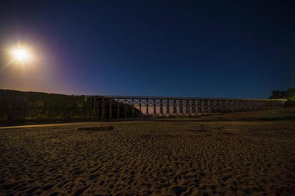 Photograph - Pudding Creek Trestle Bridge - 1 by Jonathan Hansen