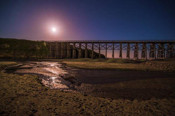 Photograph - Pudding Creek Trestle Bridge - 2 by Jonathan Hansen