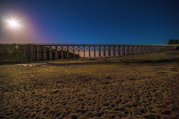 Photograph - Pudding Creek Trestle Bridge - 3 by Jonathan Hansen