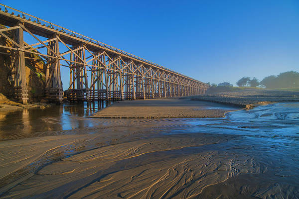 Photograph - Pudding Creek Trestle Bridge by Jonathan Hansen
