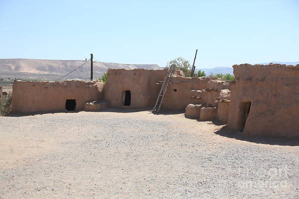 Wall Art - Photograph - Pueblo Pit House Southern Nevada Historical  by Chuck Kuhn