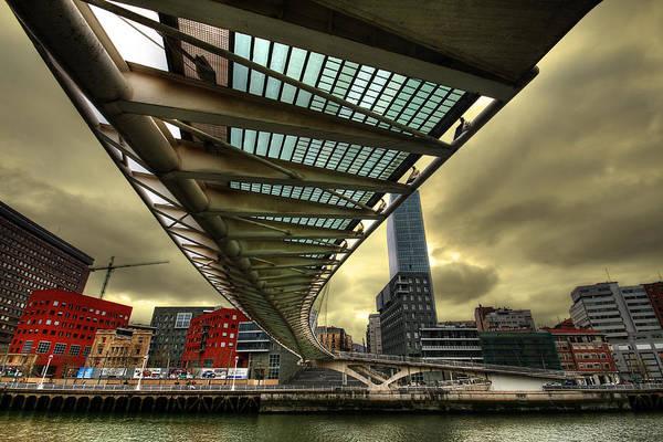 Bilbao Photograph - Puente Hacia El Futuro by Gustavo's Photos